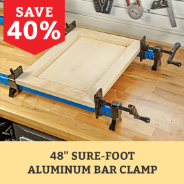 Sure-Foot Aluminum Bar Clamp