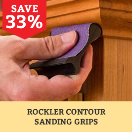 Rockler contour Sanding Grips