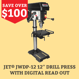 Jet JWDP-12 12 Drill Press with Digital Readout