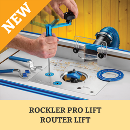 Rockler Pro Lift ROuter Plate