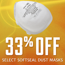 Save on Select Softseal Dust Mask
