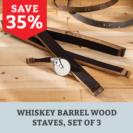 Save on Whiskey Wood Staves 3 Pack