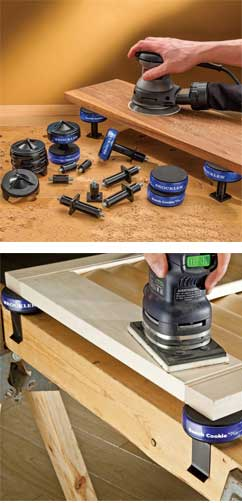 Use Your Bench Cookie Almost Anywhere - Risers and Clips
