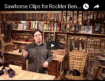 Sawhorse Clips for Rockler Bench Cookie Plus Review by Stumpy Nubs