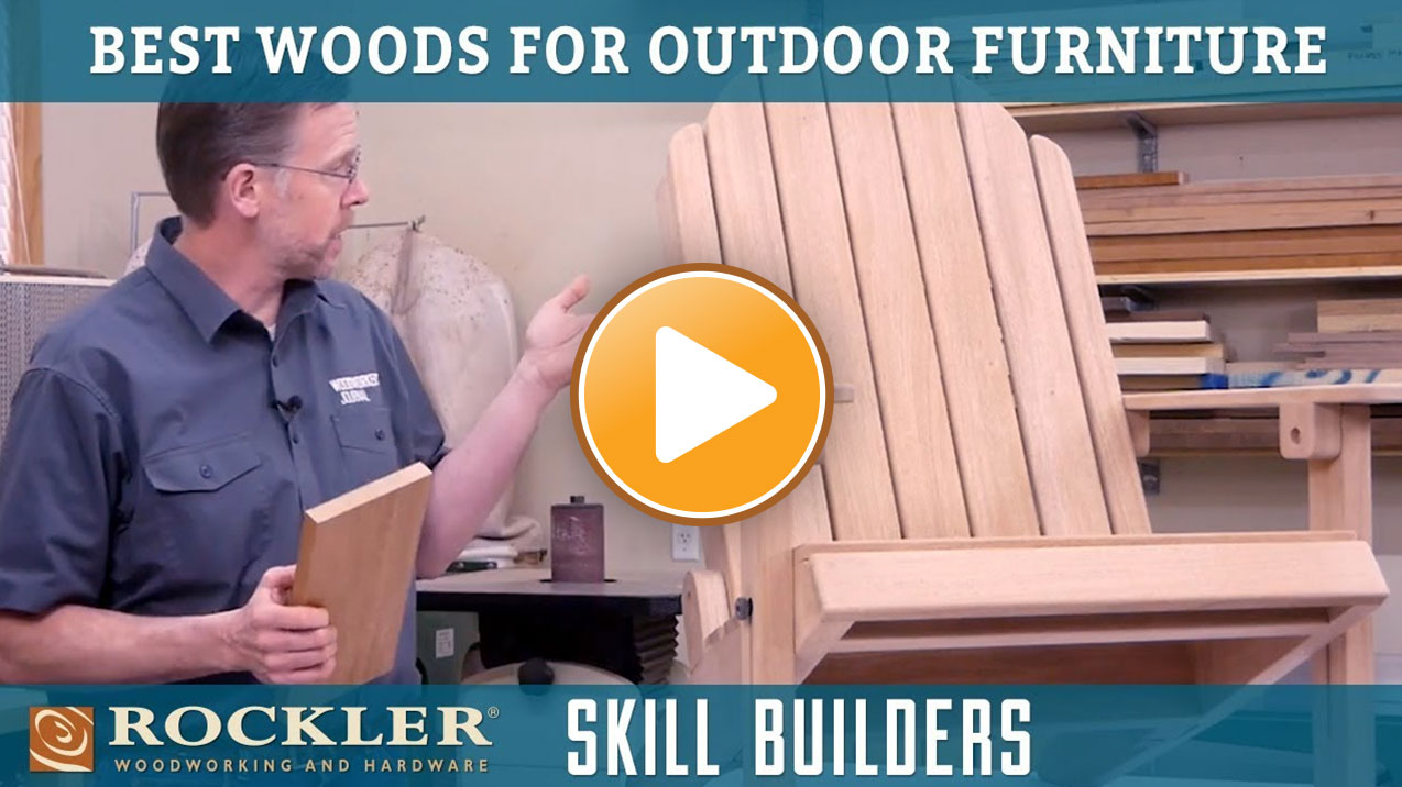 Best Woods for Building Outdoor Furniture