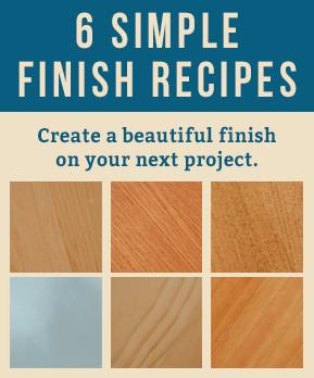 6 Simple Finish Recipes