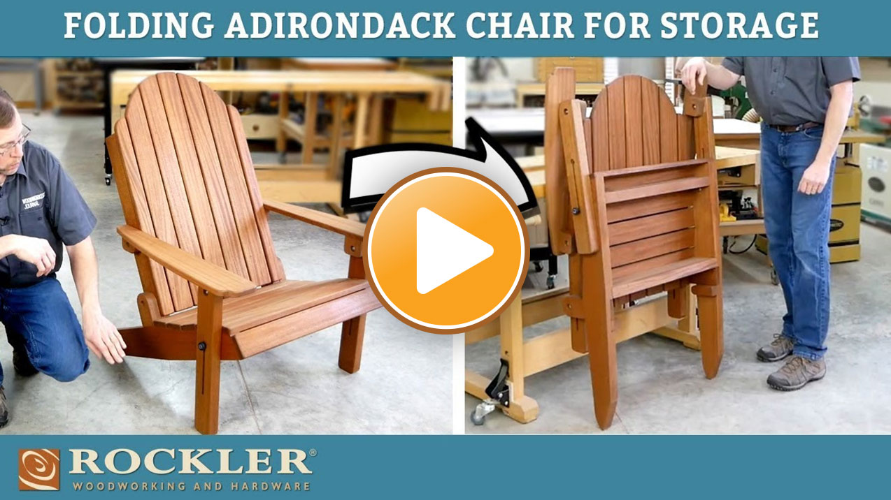 Folding Adirondack Chair Demonstration