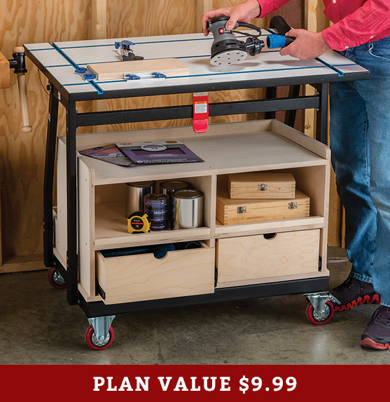 Build It With Rockler Material Mate Cabinet Rockler Woodworking And Hardware