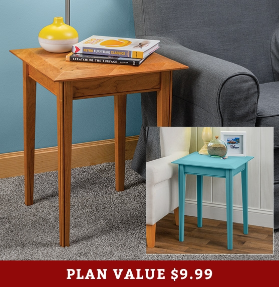 How To Build An End Table Rockler Woodworking And Hardware - How to build an end table