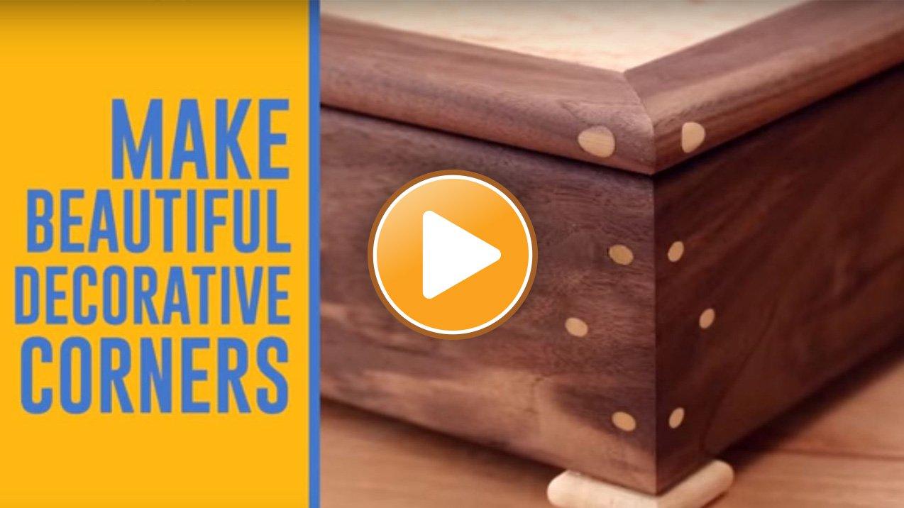 Corner Key Doweling Jig Video