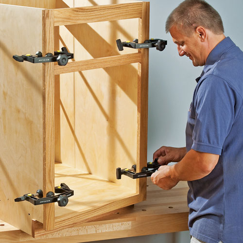 Installing Your Custom Cabinets