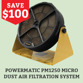 Powermatic dust air filtration system