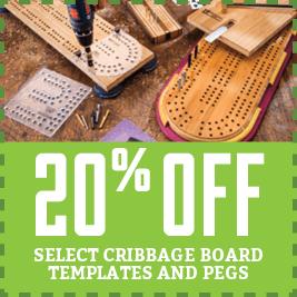 cribbage board templates