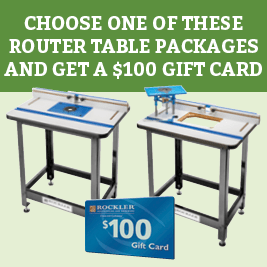 Gift Card with Router Table