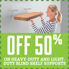 Save on shelf supports