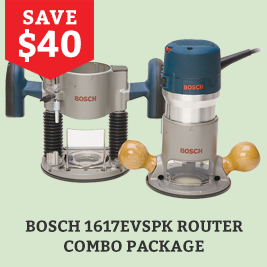 Bosch Router Combo Package