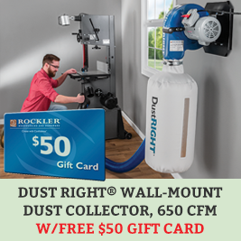 Dust Right GIft Card Offer