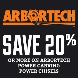 Arbortech Power Carving chisels