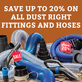 Save on Dust Right Fittings and Hoses