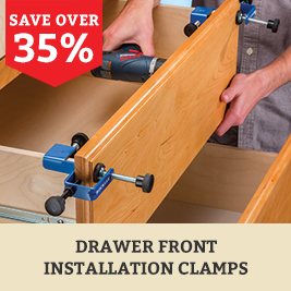 Drawer Front Clamps