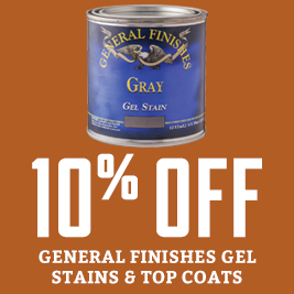 General Finishes Stain sale