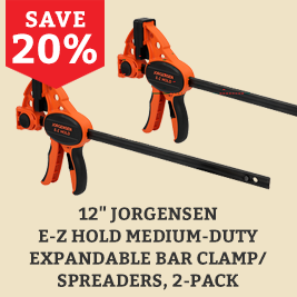 2 pack clamps