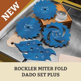 Miter Fold Dado Set Plus