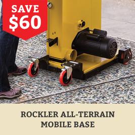 Rockler All- Terrain Mobile Base