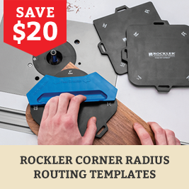 Rockler Corner Routing Radius Gauges