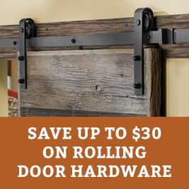 Rolling Door Hardware