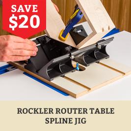 Router Spline Jig
