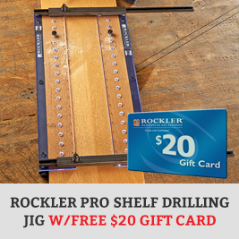 Drilling Jig with Gift Card