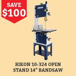 Save $100 on this Rikon Bandsaw