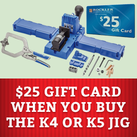 Free Gift Card with K4 or K5 Jig