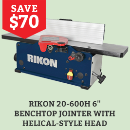 Save On the Rikon 8 inch Slow speed Bench Grinder