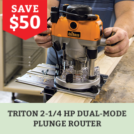 Triton Dual Mode Plunge Router