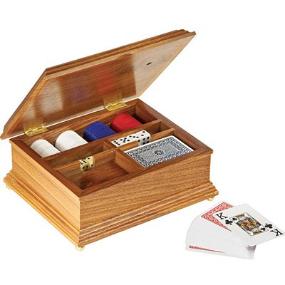 Free poker chip box plan, build a great gift
