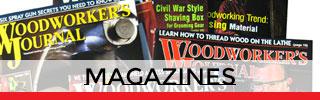 Shop Woodworking Magazines