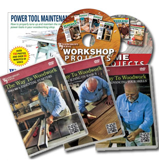 Woodworkers Journal CDs, DVDs and Software