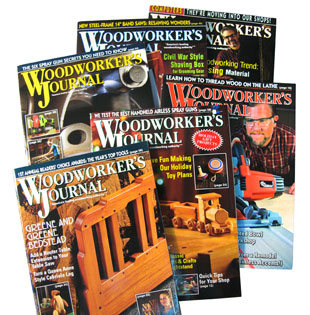 Woodworkers Journal Magazines