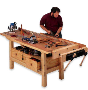 Shop Workshop Plans and Projects from Woodworker's Journal