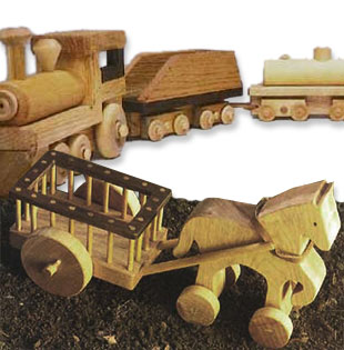 Shop Woodworker's Journal Toy and Game Plans
