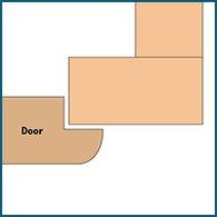 Three eighths inset cabinet door diagram