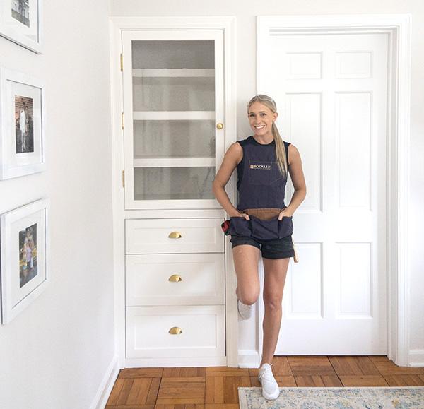 file cabinet closet project
