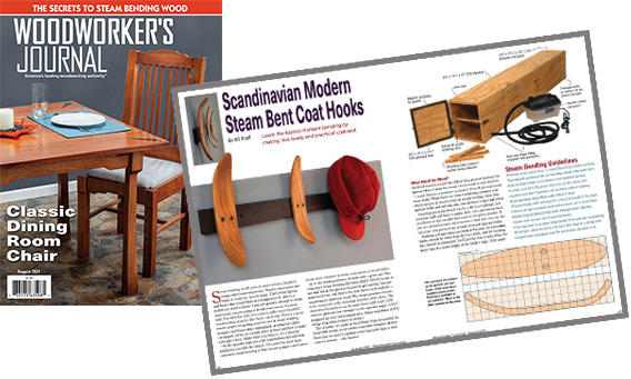July 2021 Woodworkers Journal order