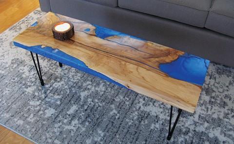 epoxy river table