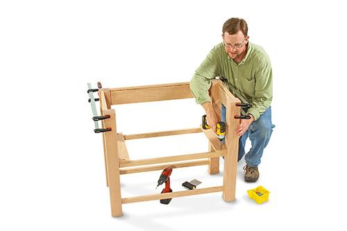 attaching shelf supports
