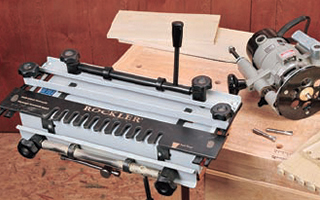 Dovetail cutting jigs for routers