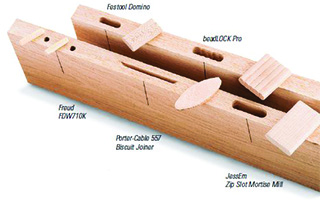 Cut Mortise Loose Tenon Joinery Biscuits Joiners Mills
