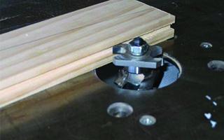 Cutting the Panel Slot